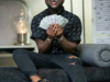 Watch the moment Davido surprised his Security Guard with packs of Gift